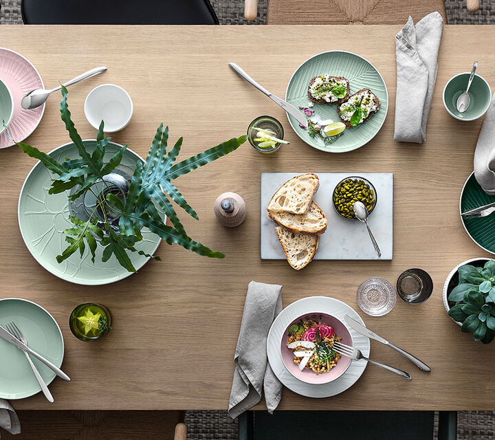 Slide to the left to get more news of Villeroy & Boch, namely the newest collection