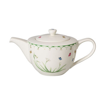 Colourful Spring teapot, 1.3 l, green