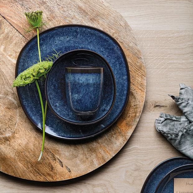 Lave Bleu handleless mug, 9 x 9 x 10.5 cm, , large