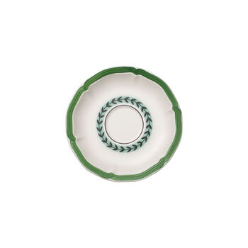 French Garden Green Line Saucer breakfast cup 17cm