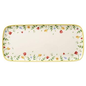 Spring Awakening rectangular cake plate