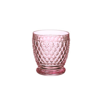 Boston Coloured Water/cocktail tumbler Pink