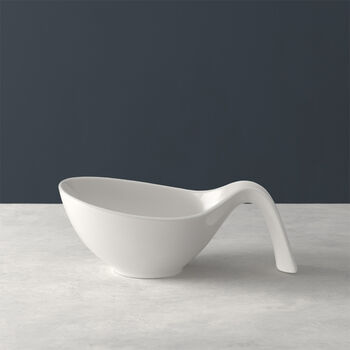 Flow salad bowl with handle