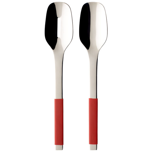 S+ Cranberry salad cutlery 2 pieces, , large