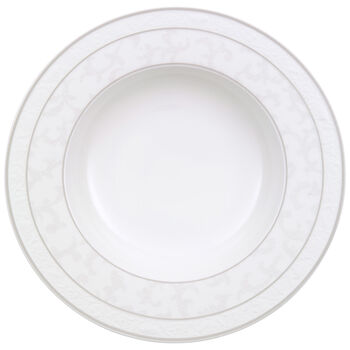 Gray Pearl soup plate