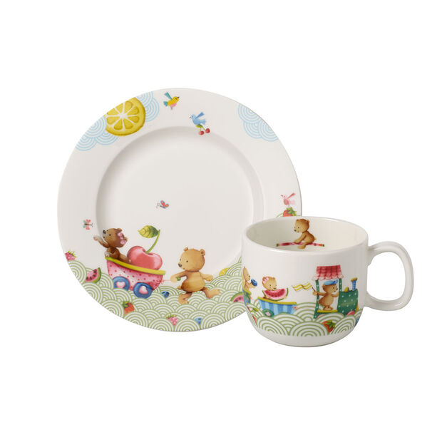 Hungry as a Bear Children's breakfast set, 2pcs., , large