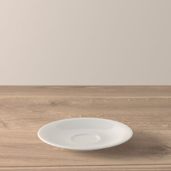New Cottage Basic mocha/espresso cup saucer