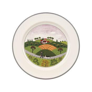 Design Naif dinner plate Huntsman