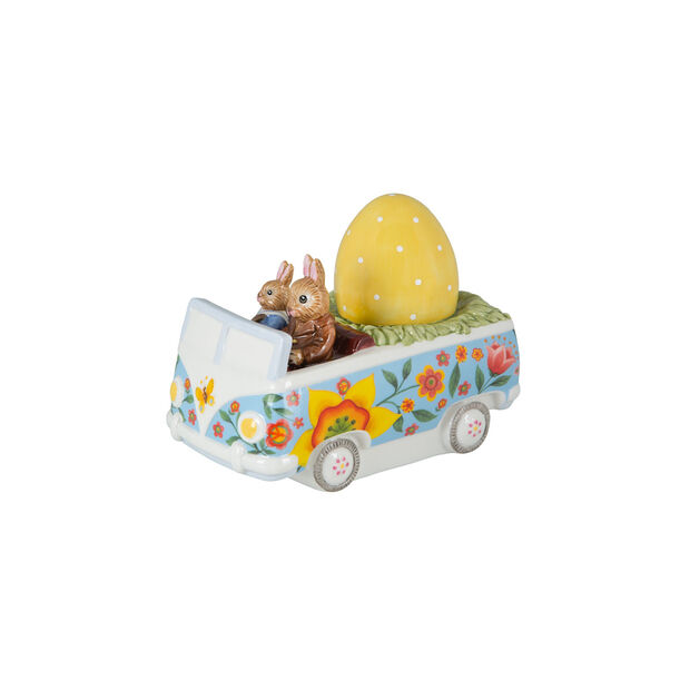 Bunny Tales figurine Bus, multicoloured, , large