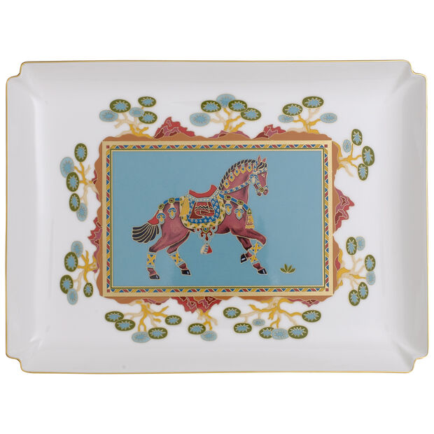 Samarkand Aquamarin Gifts large decorative bowl, , large