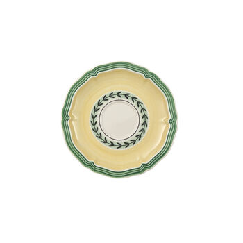 French Garden Fleurence mocha/espresso cup saucer