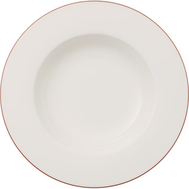 Anmut Rosewood soup plate, , large