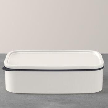 ToGo&ToStay lunch box, 20 x 13 x 6 cm, rectangular, white