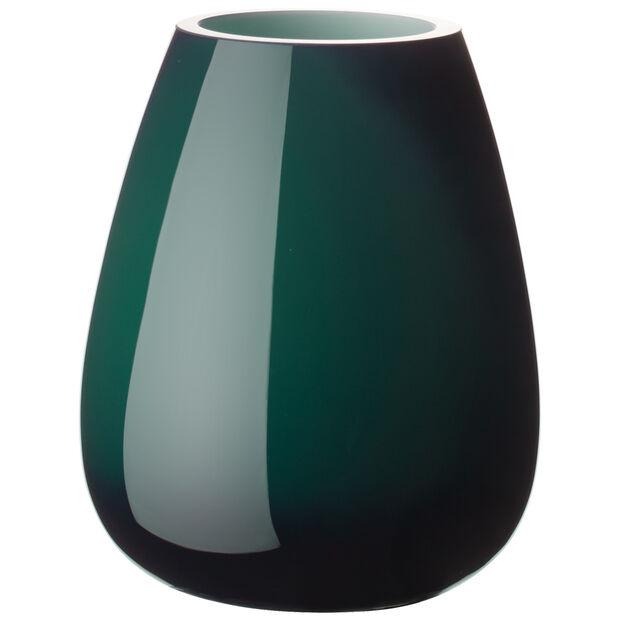Drop Mini Vase emerald green 120mm, , large