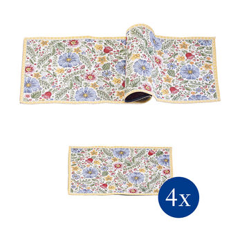 Spring Awakening Table linen set, blossom, 5pcs