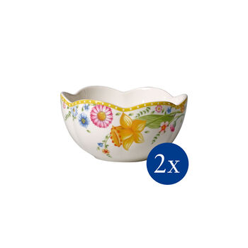 Spring Awakening bowl, Flowers, 600 ml, 2 pieces