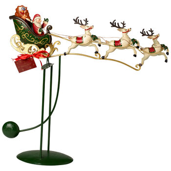 Winter Collage Accessoires Sled Swing 48x11,5x50cm
