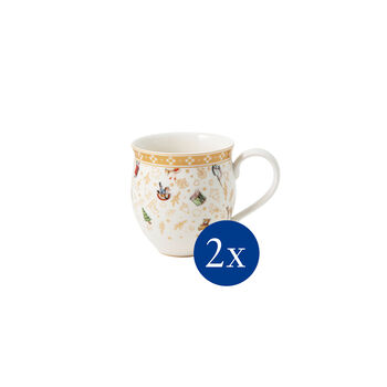 Toy's Delight cup set, 2 pieces Anniversary edition