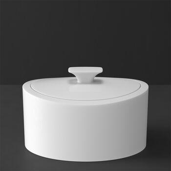 MetroChic blanc Gifts Porcelain box 16x13x10cm