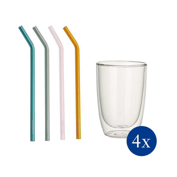 Artesano Hot&Cold Beverages long drink set 8 pieces EC, , large