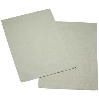 Textil Uni TREND Placemat fog green Set 2 35x50cm