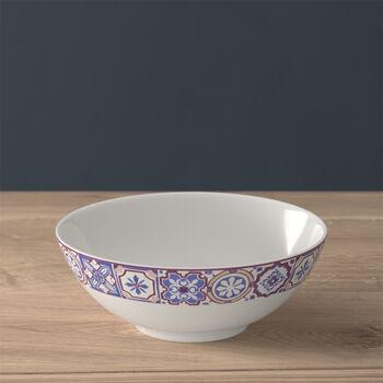 Modern Dining small bowl, indigo caro