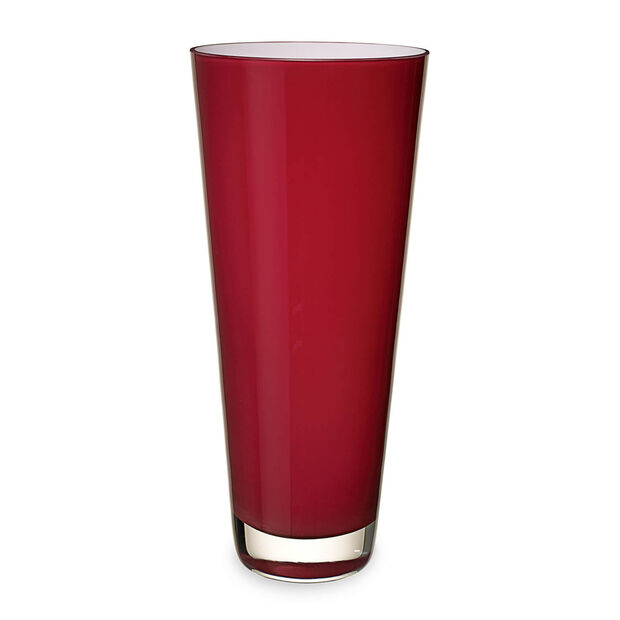 Verso large vase Deep Cherry, , large