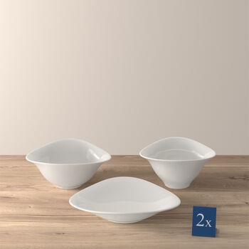 Vapiano trio bowl 6-piece set