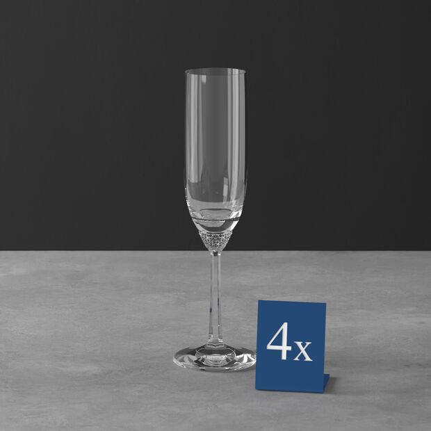 Octavie champagne flute, 4 pieces, , large