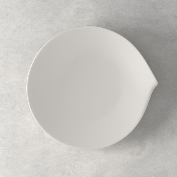 Flow small dinner plate 26 x 24 cm, , large