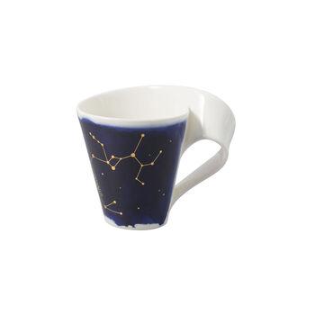 NewWave Stars mug Sagittarius, 300 ml, blue/white