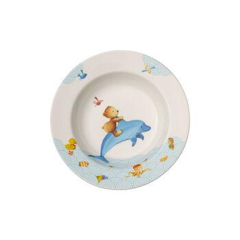 Happy as a Bear Children deep plate 195mm