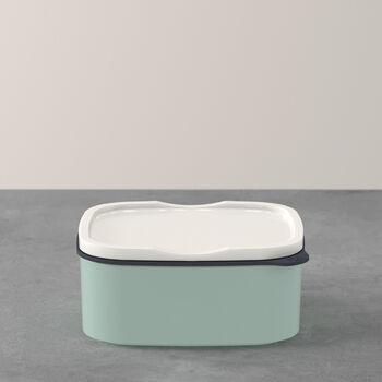 ToGo&ToStay lunch box, 13 x 10 x 6 cm, rectangular, mint green