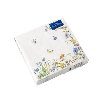 Easter Accessories napkins, flower tendril, 25 x 25 cm, 20 pieces