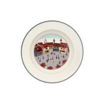 Design Naif Deep plate Village 21cm