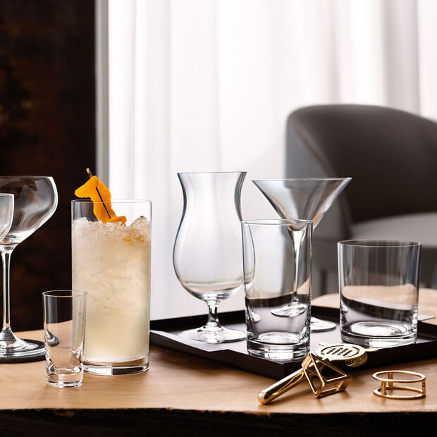 Purismo Bar exotic cocktail glass 2-piece set, , large