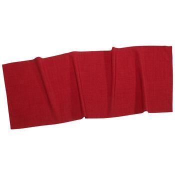 Textil Uni TREND Runner red 50x140cm