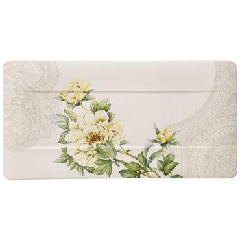Quinsai Garden serving plate 44 x 23 cm