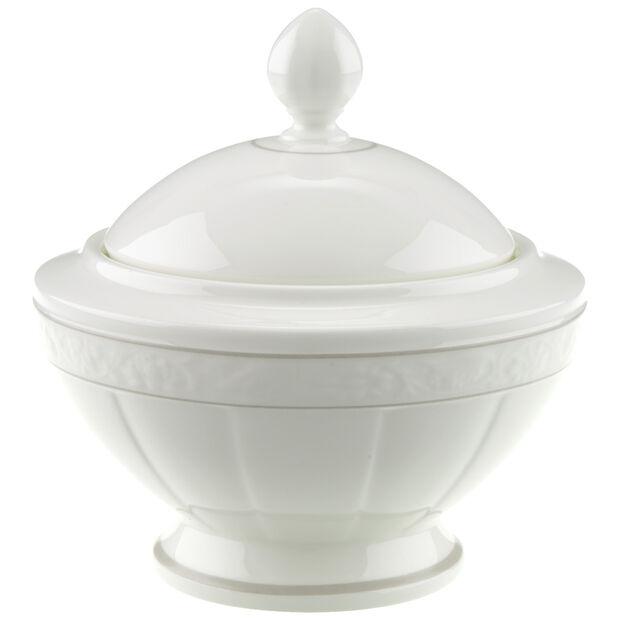 Gray Pearl sugar bowl 6 people, , large