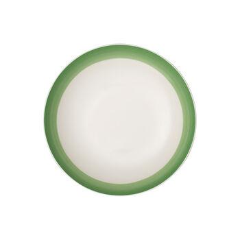 Colourful Life Green Apple flat bowl