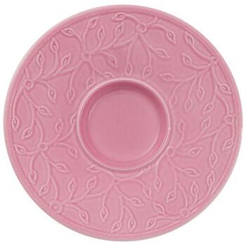 Caffè Club Floral Touch of Rose mocha/espresso cup saucer
