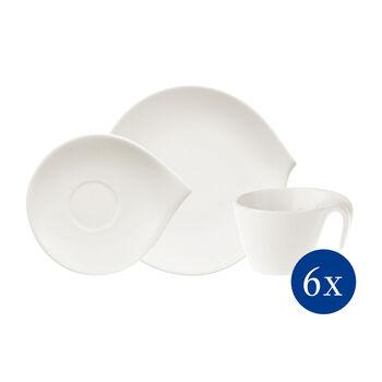 Flow Coffee Set 18pcs