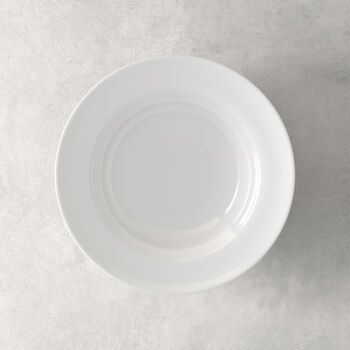 NEO White Deep plate 23x23x6cm