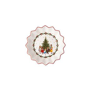 Toy's Fantasy Bowl large, Kids dancing around tree 24x24x4,5cm