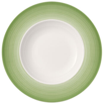 Colourful Life Green Apple pasta plate