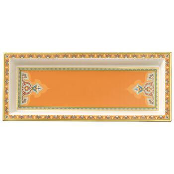 Samarkand Mandarin rectangular bowl 25 x 10 cm