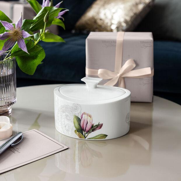 Quinsai Garden Gifts Porcelain box 16x13x10cm, , large