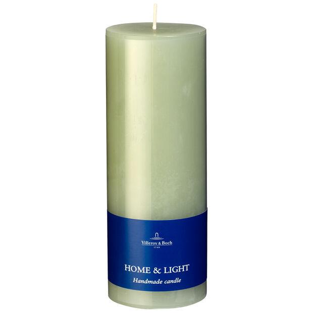 Essentials Candles Fog Green Pillar 7x19 7x19cm, , large