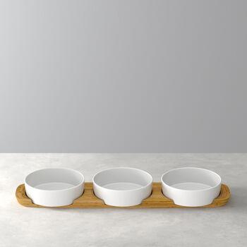 Pizza Passion Topping platter set 4pcs. 50x13,5x5,5cm