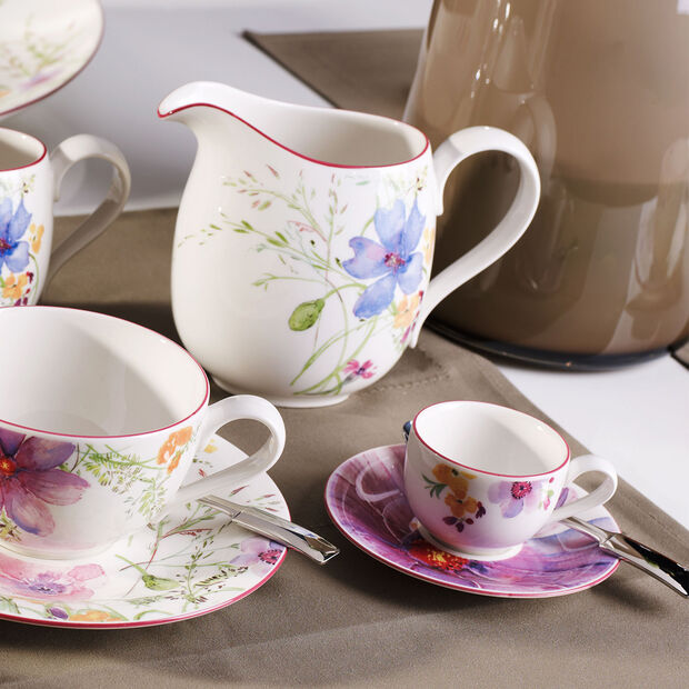 Mariefleur Basic mocha/espresso cup saucer, , large